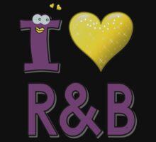 I LOVE R&B Kids Tee