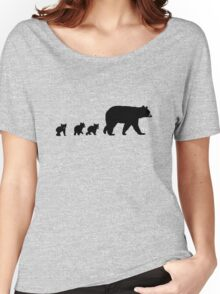 Mama Bear and her Cubs.  Women's Relaxed Fit T-Shirt