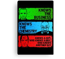 KNOWS A GUY Canvas Print