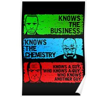 KNOWS A GUY Poster