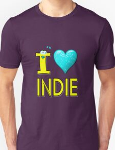 I LOVE INDIE MUSIC T-Shirt