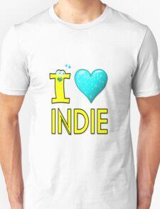 I LOVE INDIE MUSIC Unisex T-Shirt