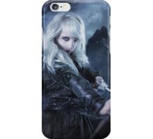 Elven warrior girl archeress iPhone Case/Skin