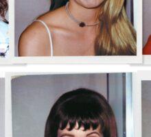 Clueless - Polaroid Collage Sticker