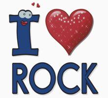 I LOVE ROCK by cheeckymonkey