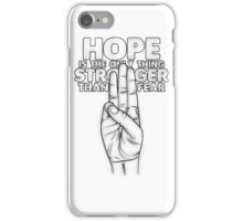 HOPE iPhone Case/Skin