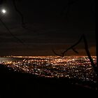 Cape Town by night by MarkySA