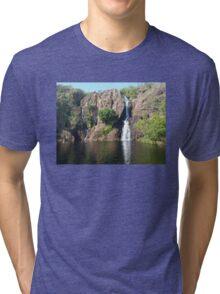 Wangi Falls ,Litchfield National Park Northern Territory Australia  Tri-blend T-Shirt