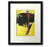 Woman with a Long Cigarette Holder Framed Print