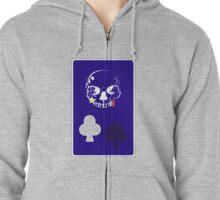 Hisoka Card Zipped Hoodie