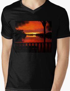 Murray River Sunset near Loxton, S.A. T-Shirt