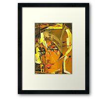 Sunny Blond Framed Print