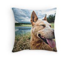 ...a dog's life... Throw Pillow