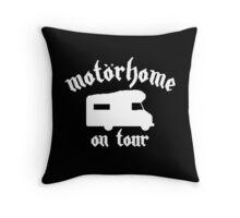 Motorhome On Tour Throw Pillow