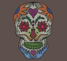 Adult Coloring - Skull by brzt