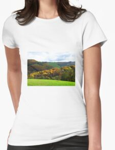 Colours of Tuscany - Italy Womens Fitted T-Shirt