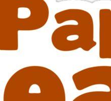 Papa Bear Claw Father s Day Sticker