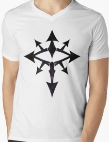 The Eye of Chaos - Dark Mens V-Neck T-Shirt