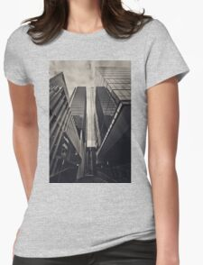 Melbourne - CBD Womens Fitted T-Shirt