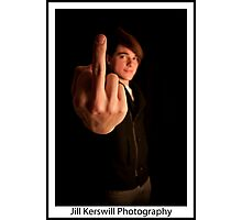 F*#K YOU! Photographic Print