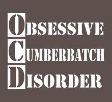 Obsessive Cumberbatch Disorder Sherlock Holmes Baby Tee