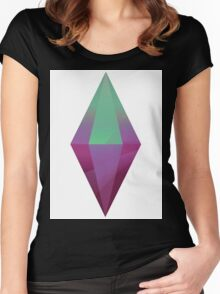 The Sims 4  Women's Fitted Scoop T-Shirt