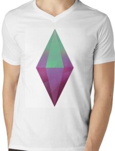 The Sims 4  Mens V-Neck T-Shirt