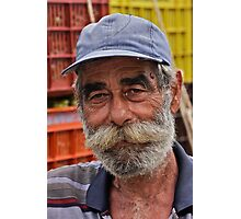 Faces of Greece . Vineyard farmer  portrait from  Kriti . Greece .. by Brown Sugar . F* Favorites: 1 Views: 538 .  Thank you dear friends !!! Photographic Print