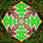 Digital Tree Star 3 by KazM