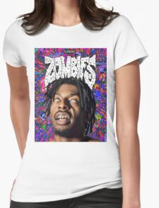 FBZ Purple Poster Womens Fitted T-Shirt