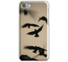 Chimney Swifts Going Home iPhone Case/Skin