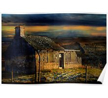 Cottage in the Dales. Poster