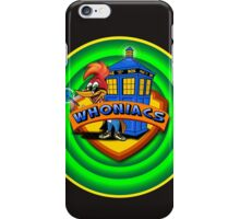 WHONIACS  iPhone Case/Skin