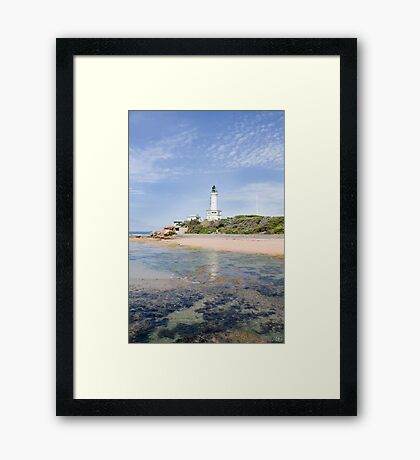 Point Lonsdale Lighthouse Framed Print