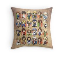 Hetalia Group Throw Pillow