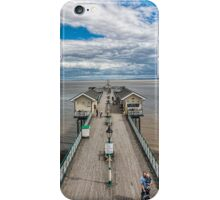 Looking Down The Pier 2 iPhone Case/Skin