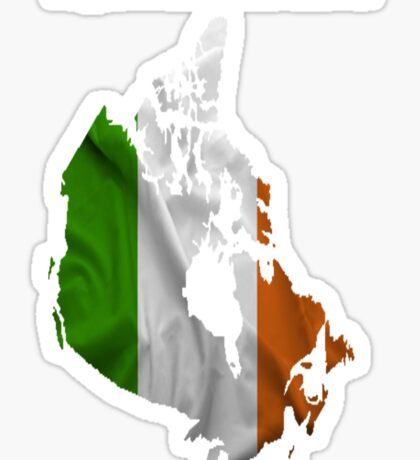 Irish in Canada Sticker