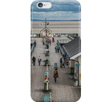 Looking Down The Pier 4 iPhone Case/Skin