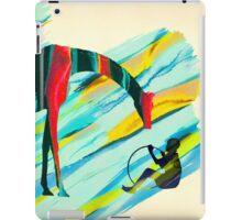 Africa Giraffe Boy Collage iPad Case/Skin