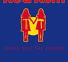 REDRUM gives you the creeps! (red) by sebisghosts