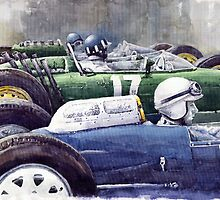 Datch GP 1962 Lola BRM Lotus by Yuriy Shevchuk