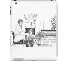 Seam master iPad Case/Skin