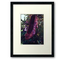sparkly shoe decoraion Framed Print