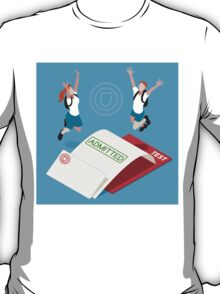 School Admission Letter T-Shirt