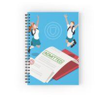 School Admission Letter Spiral Notebook