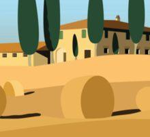 A trip to Tuscany Sticker