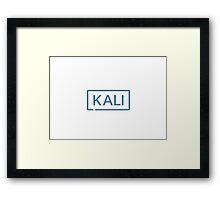 Kali Sana 2.0 Tshirt Framed Print