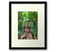 Woodland Fairy Framed Print