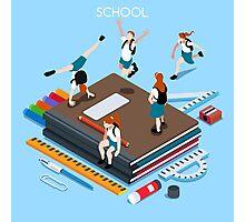 School Chancellery Set Photographic Print