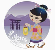 Japanese girl by Macy Wong